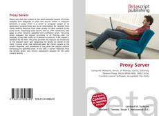 Bookcover of Proxy Server