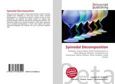 Capa do livro de Spinodal Decomposition