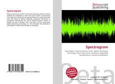 Capa do livro de Spectrogram