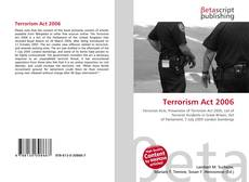 Bookcover of Terrorism Act 2006
