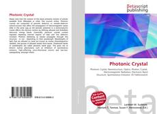 Bookcover of Photonic Crystal