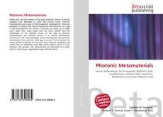 Bookcover of Photonic Metamaterials