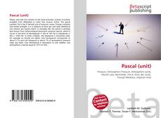 Bookcover of Pascal (unit)