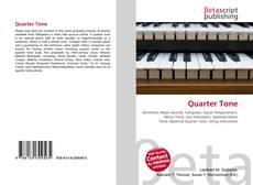 Обложка Quarter Tone