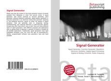Couverture de Signal Generator