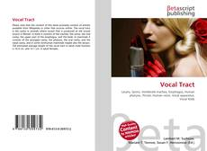 Bookcover of Vocal Tract
