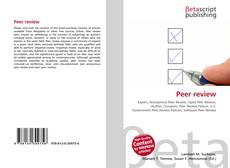 Capa do livro de Peer review