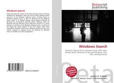 Bookcover of Windows Search