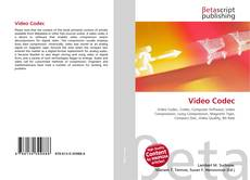 Bookcover of Video Codec