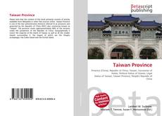 Bookcover of Taiwan Province