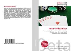 Bookcover of Poker Probability