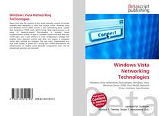 Windows Vista Networking Technologies kitap kapağı
