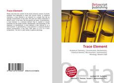 Bookcover of Trace Element