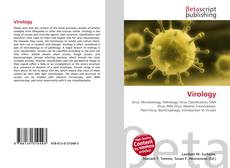 Bookcover of Virology