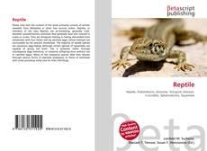 Обложка Reptile