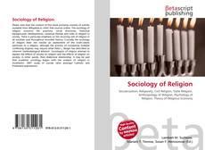 Sociology of Religion kitap kapağı