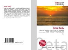 Solar Deity kitap kapağı