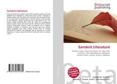 Buchcover von Sanskrit Literature