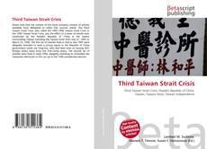 Portada del libro de Third Taiwan Strait Crisis