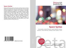 Bookcover of Space Syntax