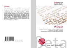 Pronoun kitap kapağı