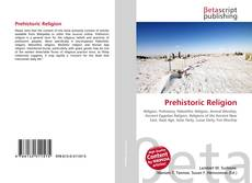 Prehistoric Religion的封面