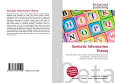 Bookcover of Semiotic Information Theory