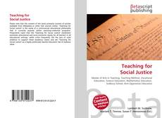 Bookcover of Teaching for Social Justice