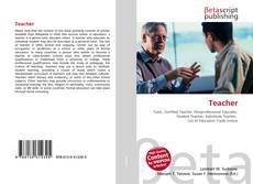Bookcover of Teacher
