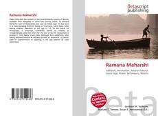 Bookcover of Ramana Maharshi