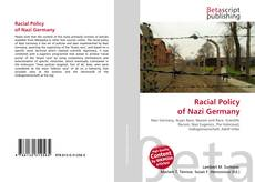 Bookcover of Racial Policy of Nazi Germany