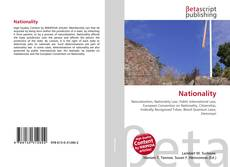Bookcover of Nationality