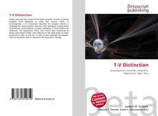 T-V Distinction的封面