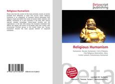 Bookcover of Religious Humanism