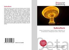 Bookcover of Subculture