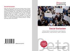 Bookcover of Social Exclusion