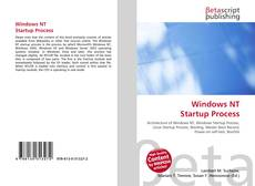 Copertina di Windows NT Startup Process