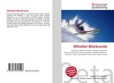 Capa do livro de Whistler Blackcomb