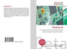 Bookcover of Pentium III
