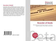 Обложка Recorder of Deeds