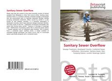 Bookcover of Sanitary Sewer Overflow