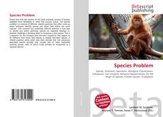 Bookcover of Species Problem