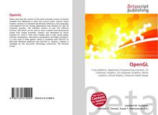 Bookcover of OpenGL