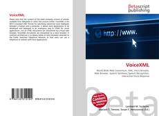 Bookcover of VoiceXML