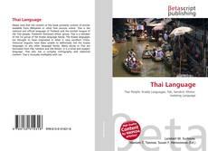 Portada del libro de Thai Language