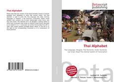Portada del libro de Thai Alphabet