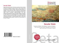 Bookcover of Secular State