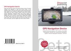 Обложка GPS Navigation Device