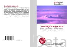 Buchcover von Ontological Argument