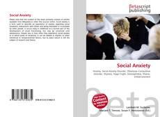 Social Anxiety kitap kapağı